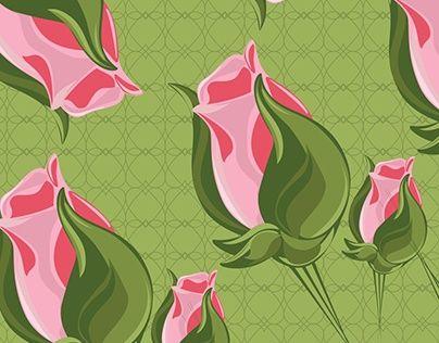 """Check out new work on my @Behance portfolio: """"Botao de rosas """" http://be.net/gallery/31709475/Botao-de-rosas-"""
