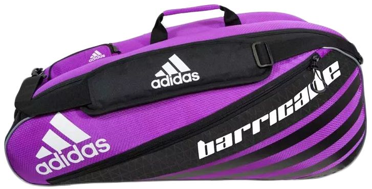Adidas Barricade Iv 6 Pack Tennis Bag Pink Black White 79 95 Tennis Bag Tennis Bags Racquet Bag