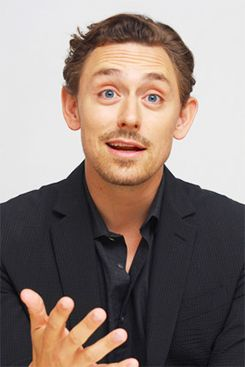 JJ Feild---pinned for the attractive facial expression haha
