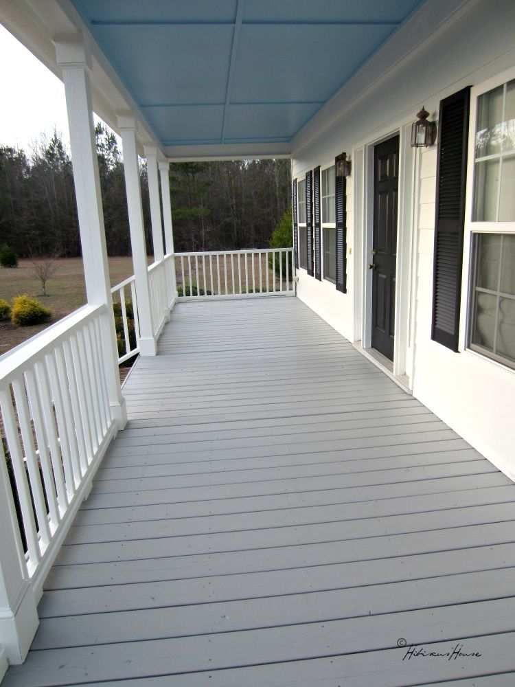 Would You Like To See Our New Porch Floor Porch Flooring Painted Front Porches Porch Colors