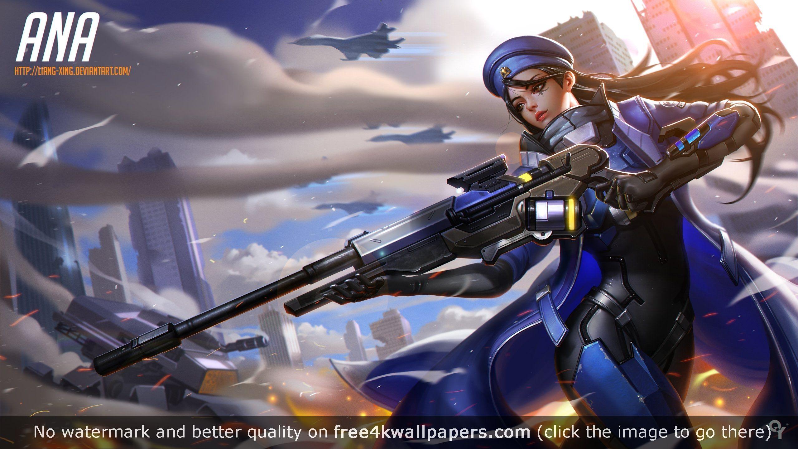 Ana Overwatch HD wallpaper | OW | Pinterest