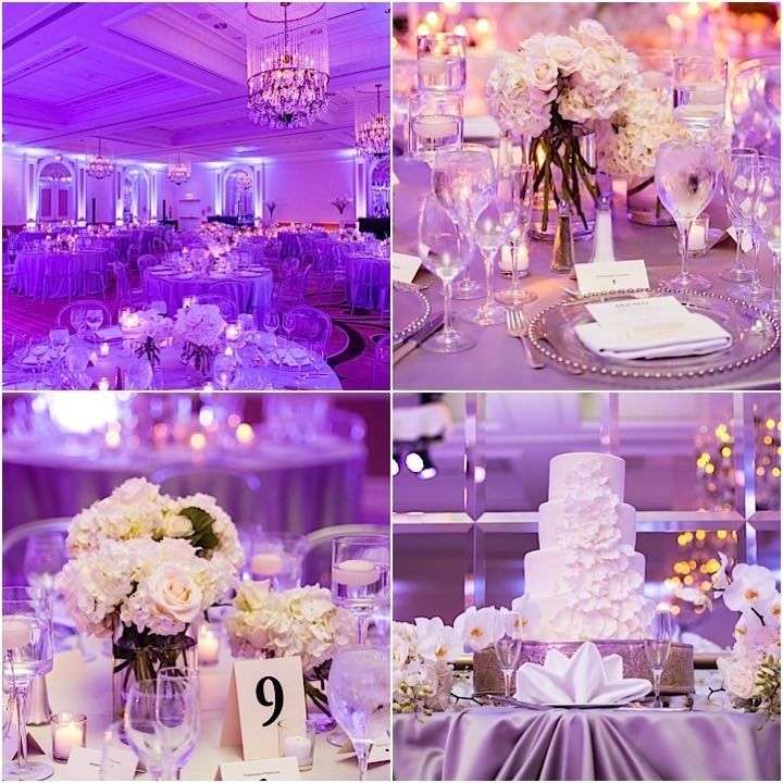 Glamorous Purple Washington DC Hotel Wedding - http://www.interiorredesignseminar.com/decorating-ideas/glamorous-purple-washington-dc-hotel-wedding/