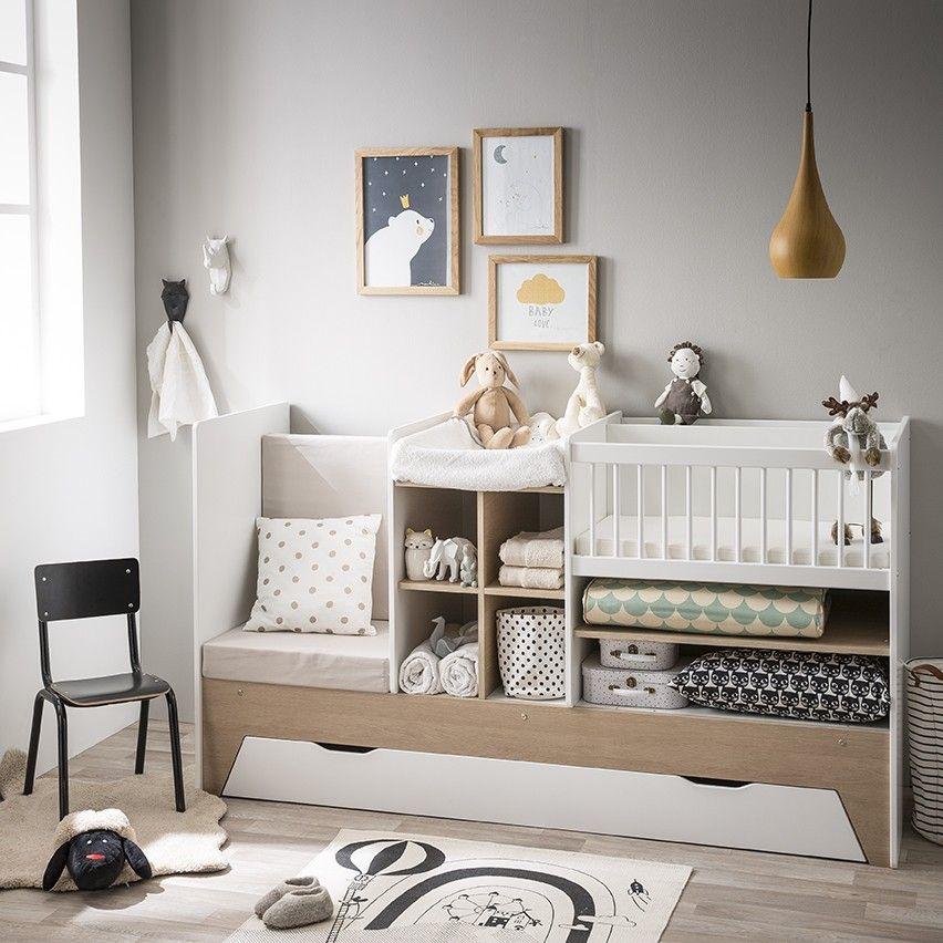 D couvrez ce magnifique lit b b combin volutif en trois tapes qui couvrira les besoins de - Moquette pour chambre bebe ...