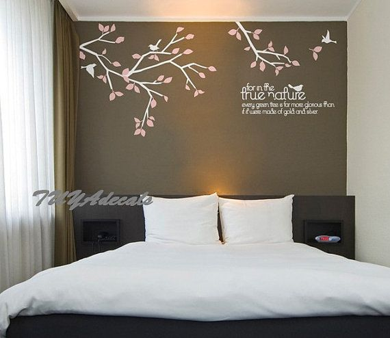 Nursery decal Vinyl Wall Decal Nature Design Tree by TUYAdecals, $42.00