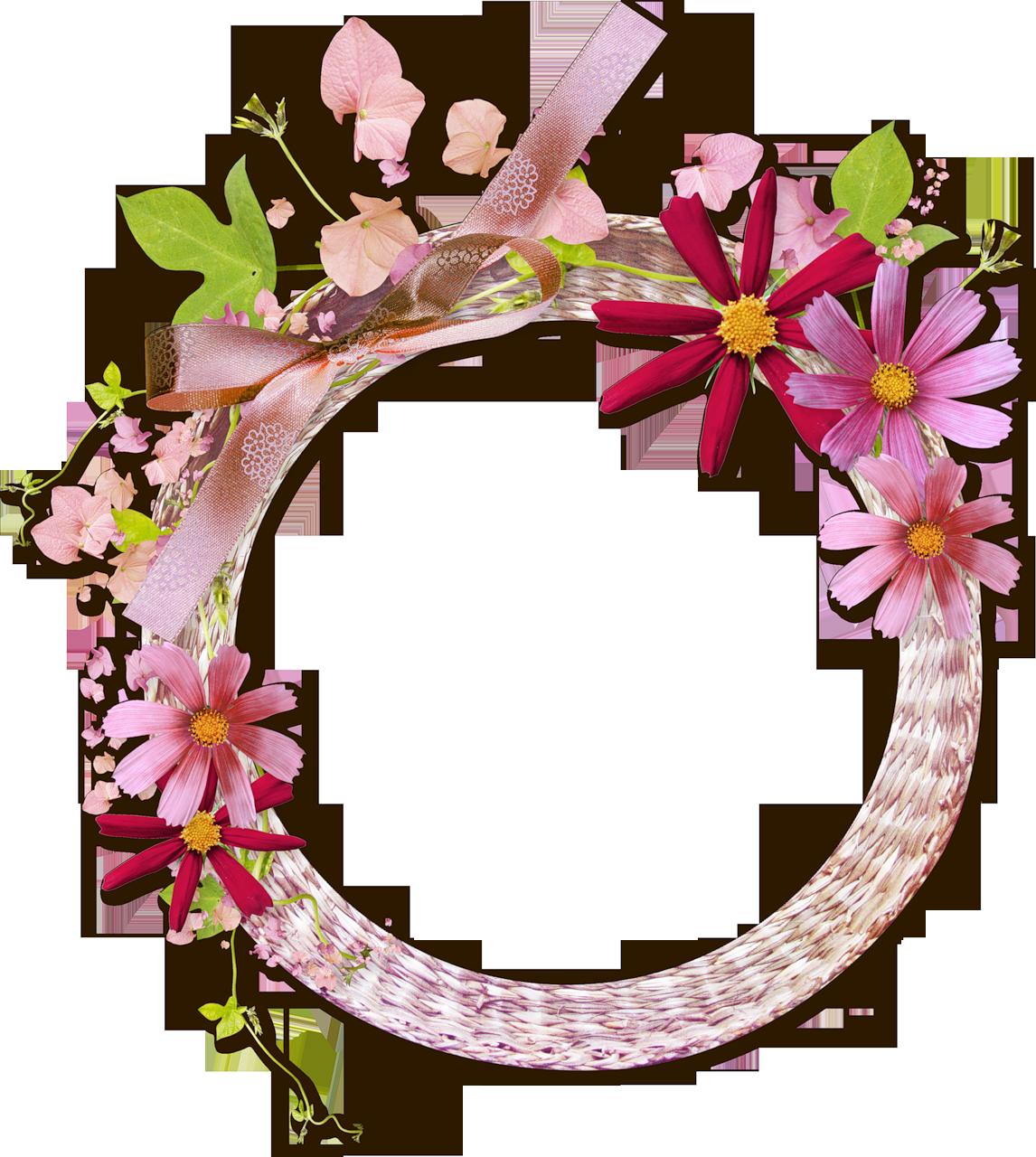 Flower Round Frame Png | www.pixshark.com - Images ...