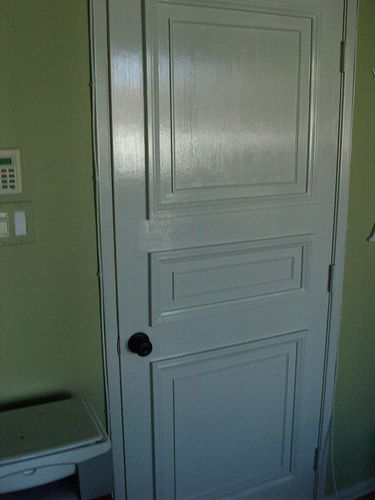 Turn That Plain, Flat Door Into A Refine, Embellished One! Absolutely Love  This