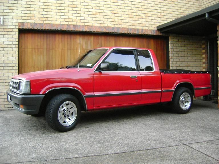 1987 and 1990 Mazda B2000/B2200 pickups. Had two of these, d ...