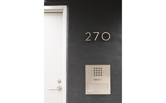 Neutra Modern House Numbers With Images Neutra House Numbers