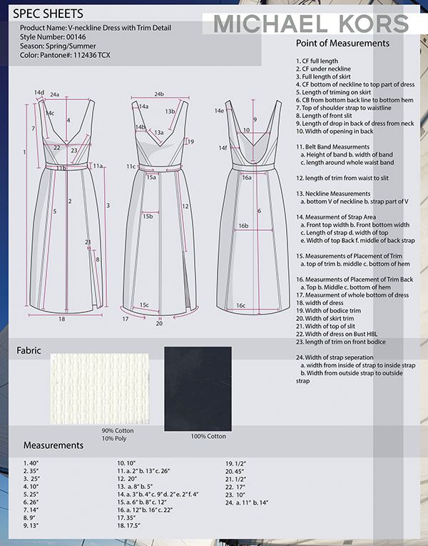 Designed A Collection Of Dresses For Michael Kors Spec Sheets And Cost Sheets Included Fashion Design Collection Sewing Projects Clothes Pattern Fashion
