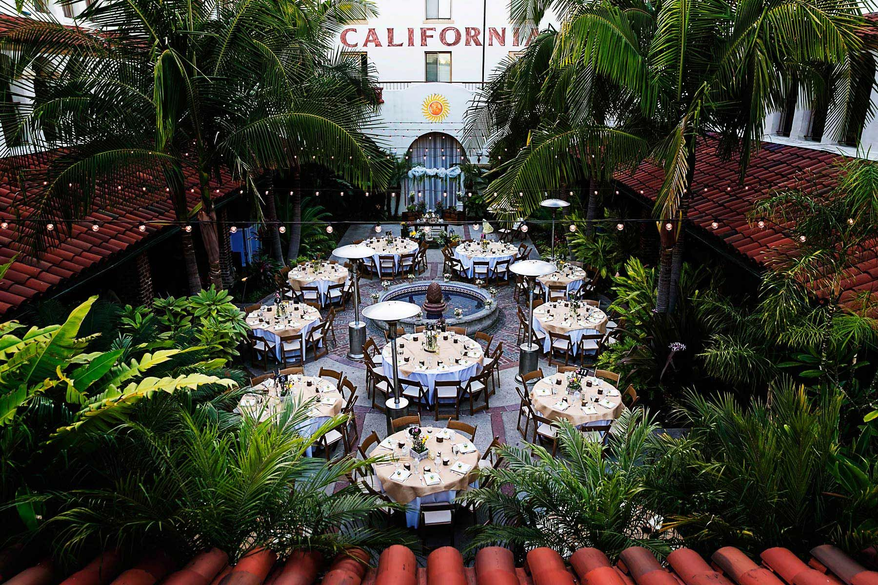 The Villa Del Sol Wedding Review Secret garden theme