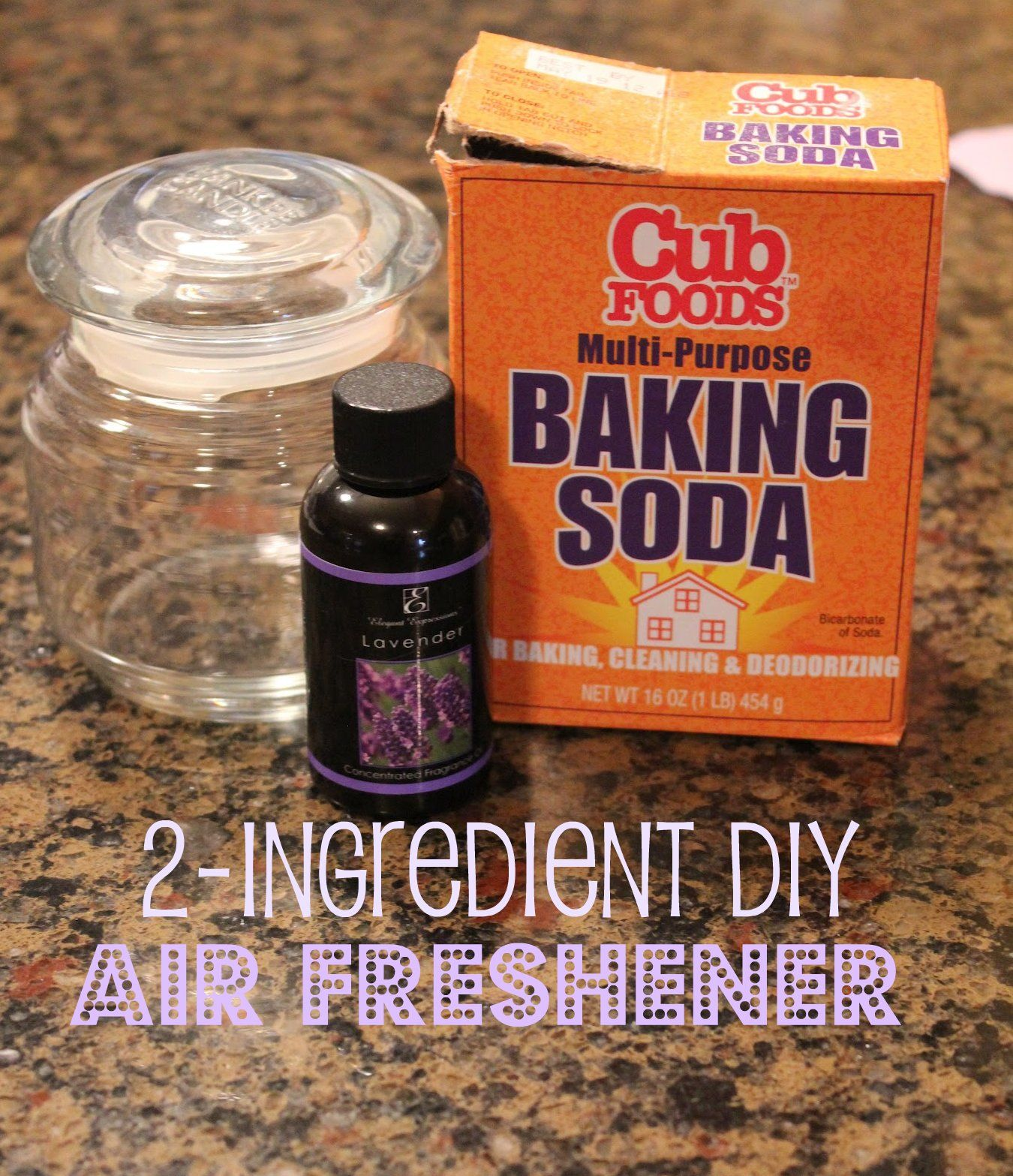 Easy DIY air freshener made with peppermint essential