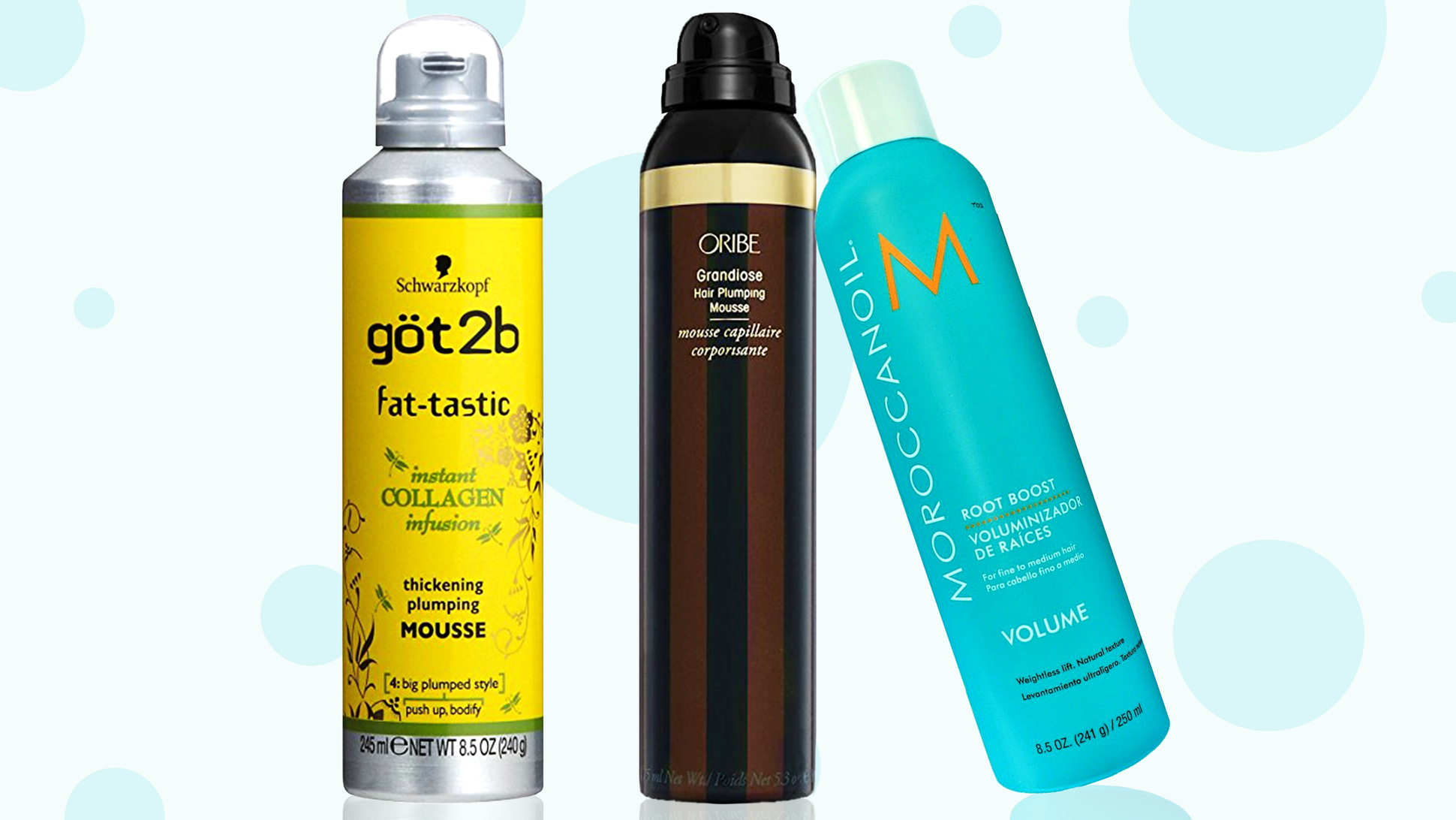 The Best Mousse For Every Hair Texture In 2020 Hair Mousse Bumble And Bumble Thickening Best Volumizing Mousse
