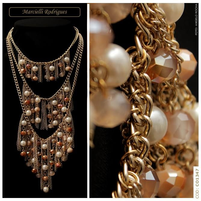 Marcielli Rodrigues | #Colar #Necklace