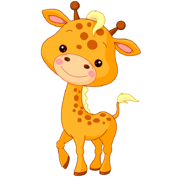 Cute Baby Giraffe Cartoon | Here| Here is a baby giraffe ...
