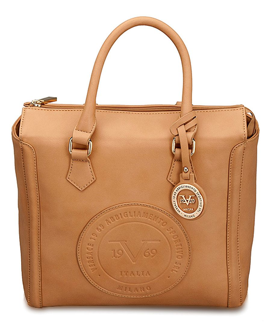 Look at this Versace 1969 Tan Milan Satchel on  zulily today ... 9cddbb79abf5f