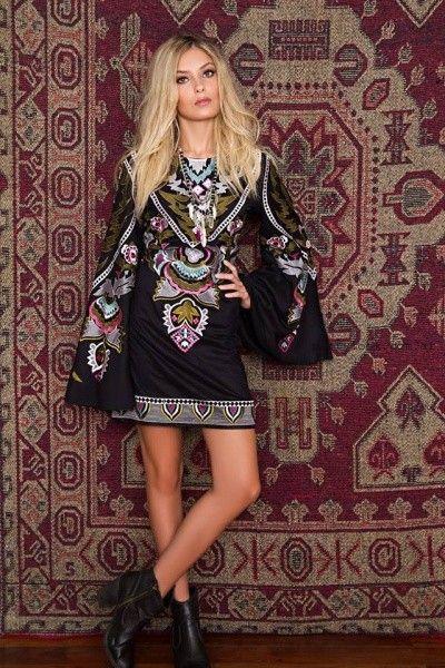 Vestidos de fiesta estilo hippie