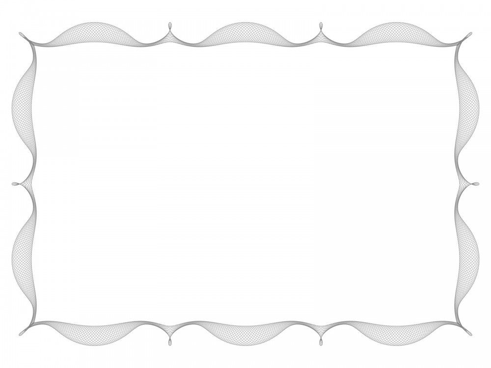 Simple Like Frame PowerPoint Template is a simple frame border ...