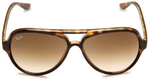 bc36bd5047 New Ray Ban RB4125 710 51 Cats 5000 Light Havana Frame Crystal Brown  Gradient Lens 59mm Sunglasses by Ray-Ban.  103.95. Ray-Ban® Cats 5000 RB4125  sunglasses ...