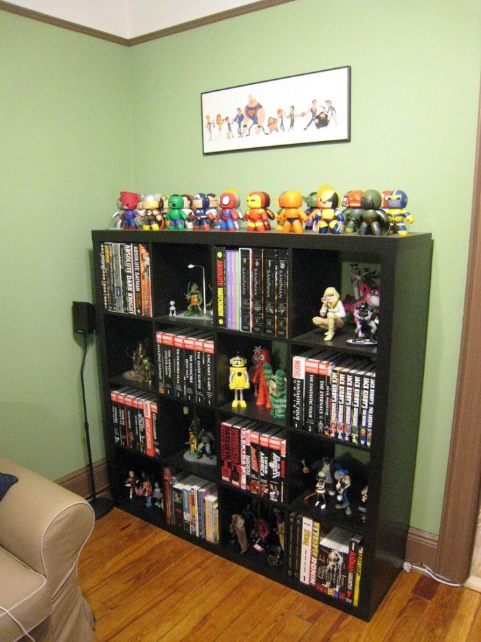 Geek Room Design Ideas: Great Way To Display This Kind Of Item. I'd Like This More