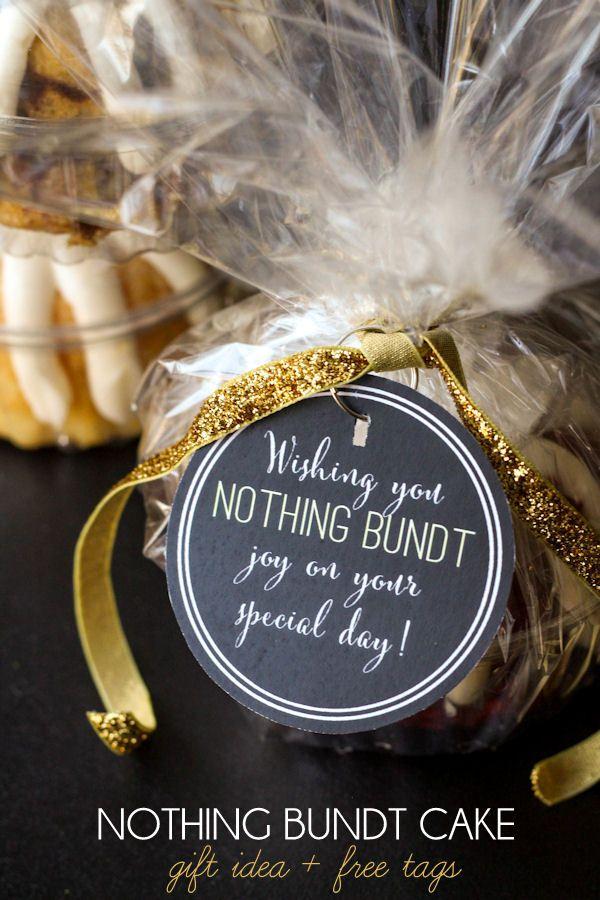 Nothing Bundt Cake Gift Idea Gift Ideas Gift Cake