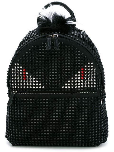 613459c659b3 FENDI Bag Bugs Backpack.  fendi  bags  fur  nylon  backpacks