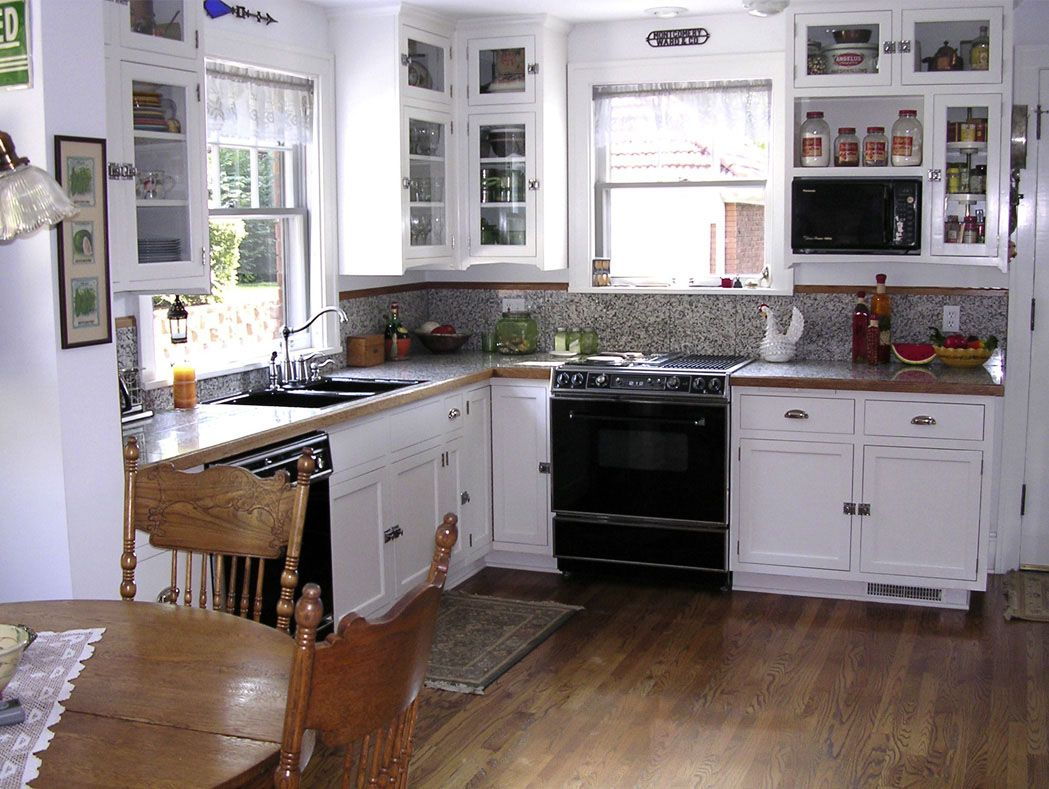 Kitchen Remodel In 1921 Colonial Revival Fine Homebuilding Simple Kitchen Remodel Kitchen Remodel Small Inexpensive Kitchen Remodel