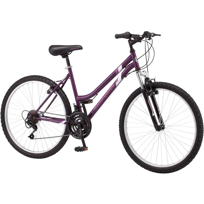 Roadmaster Granite Peak Women S Mountain Bike 26 Wheels Purple Walmart Com Mountain Biking Womens Bike Recreational Bikes