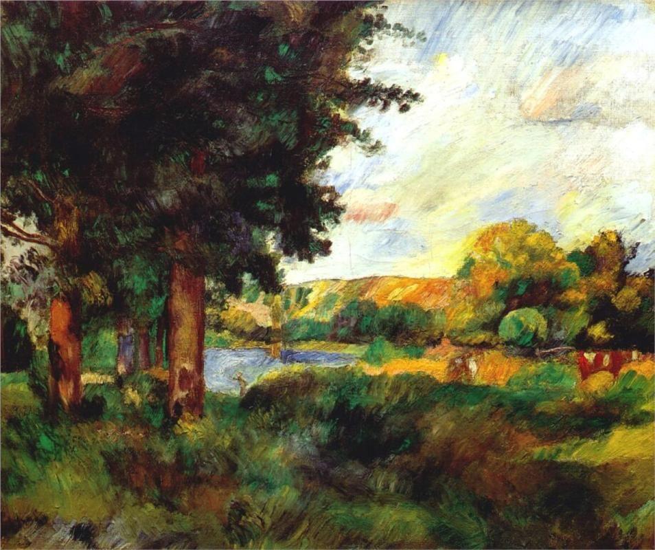 Ile de France Artist: Pierre-Auguste Renoir