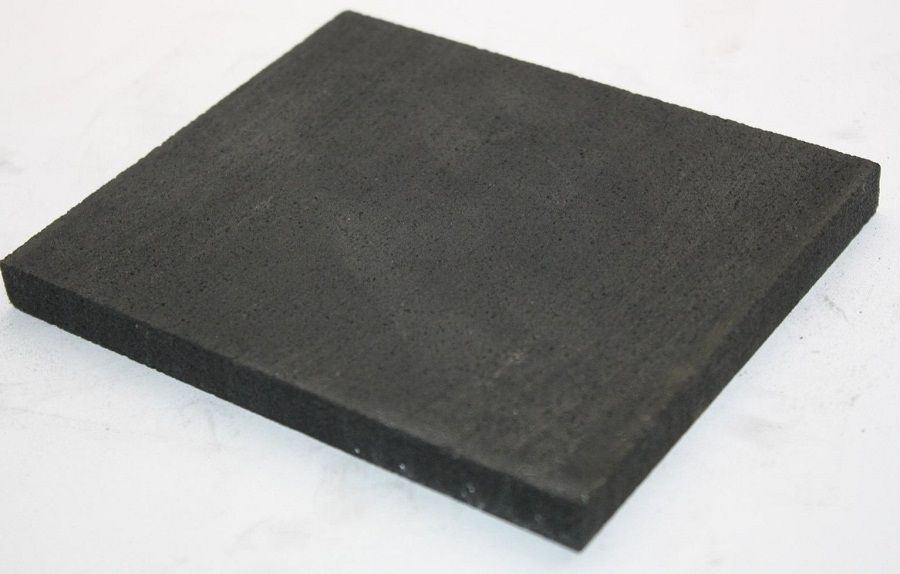 Zewoi 99.9/% Purity Graphite Plate Round Column Sheet Electrolysis Block for DIY Industry,Diameter:60mm Thickness:10mm