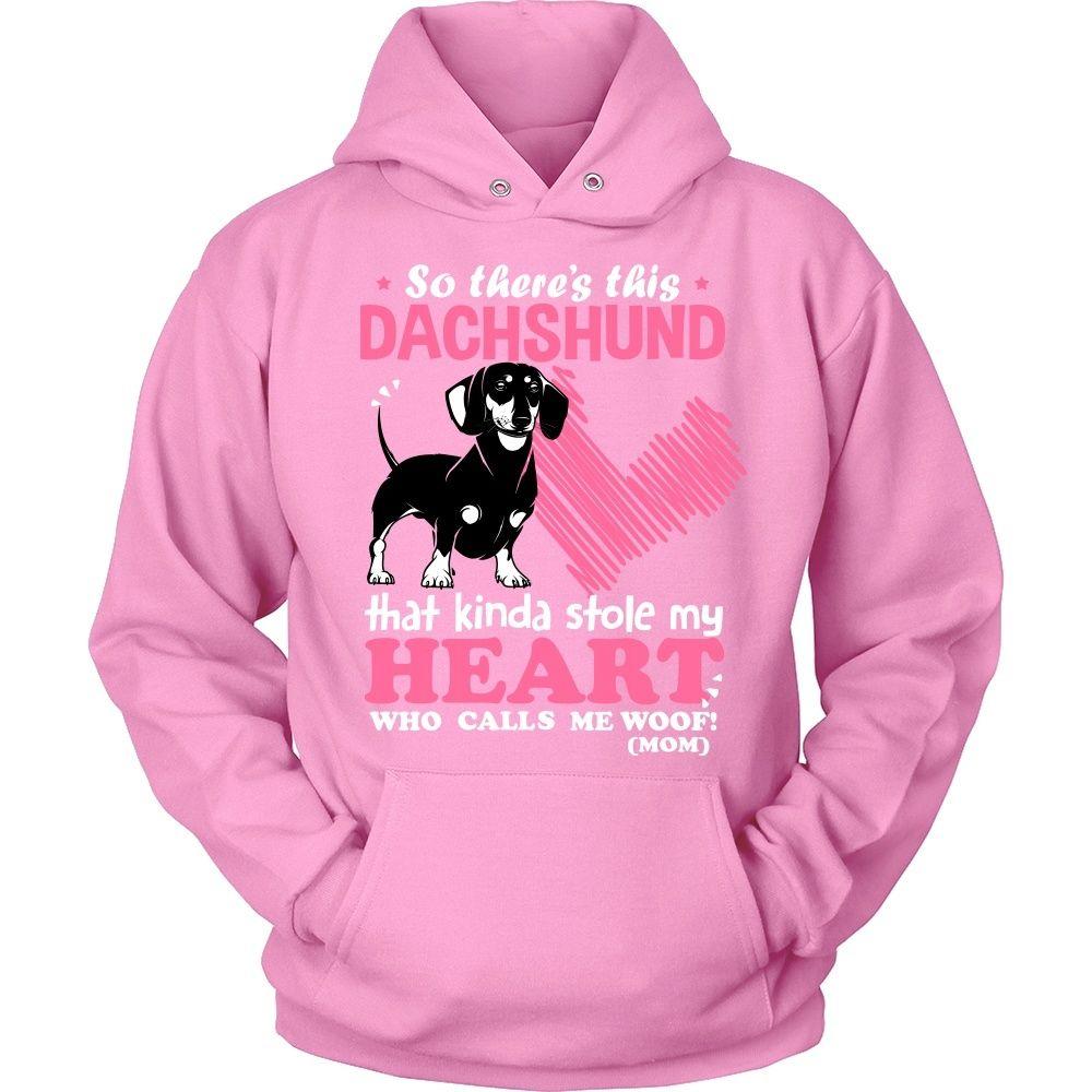 This Dachshund Kinda Stole My Heart T-Shirt