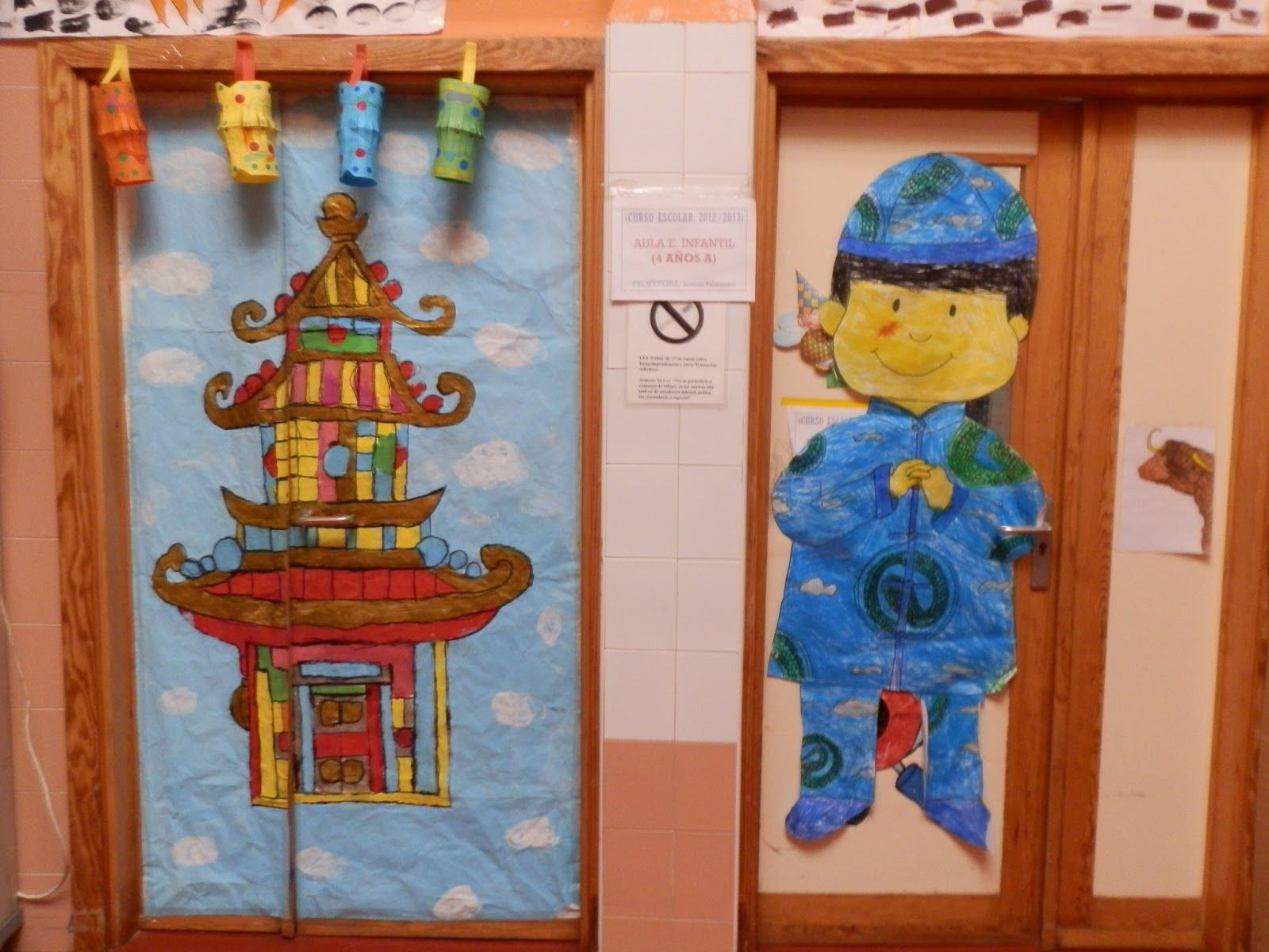 China para ni os educacion infantil buscar con google for Decoracion puerta aula infantil