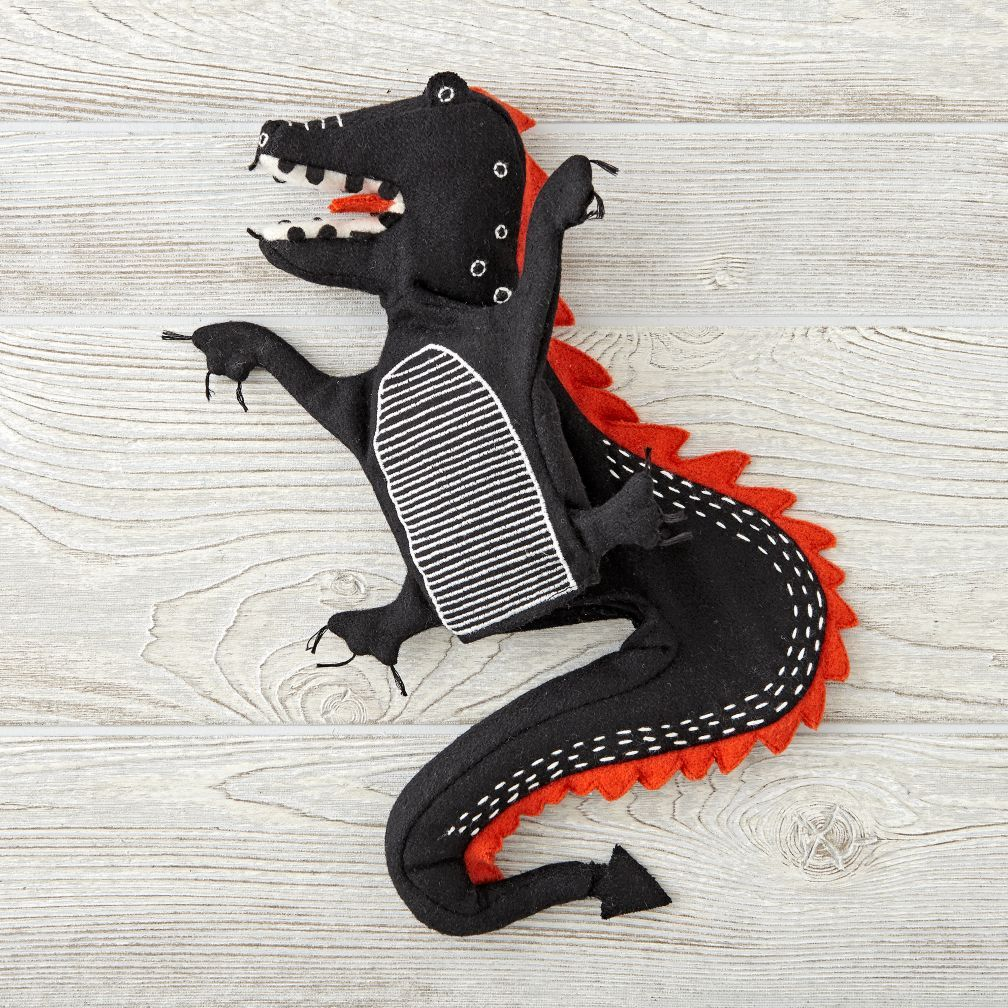 4ac44c2cecdd Shop Dragon Hand Puppet. Use your imagination to throw a puppet show with  our Medieval