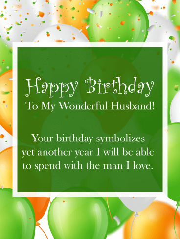 Pop colorful happy birthday wishes card for husband if you are in pop colorful happy birthday wishes card for husband if you are in need of a happy birthday card that pops with color your search is over m4hsunfo