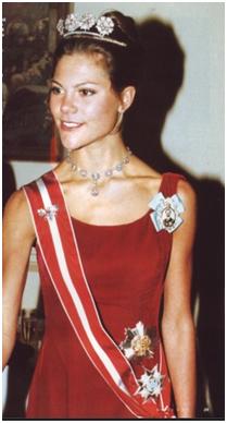A terribly thin, young Princess Victoria.