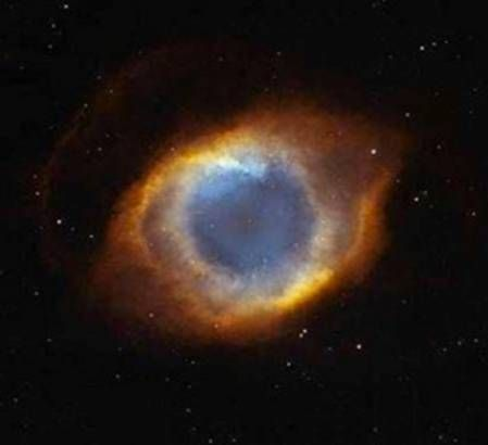 This photo is a very rare one, taken by NASA's hubbell telescope  IT IS CALLED THE EYE OF GOD   Very cool