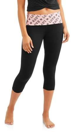 7cafa908d26727 No Boundaries Juniors' Essential Skinny Capri Yoga Pants | Products ...