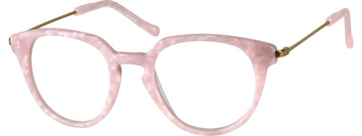 Pink Round Eyeglasses #782419 | Zenni Optical Eyeglasses | Models ...