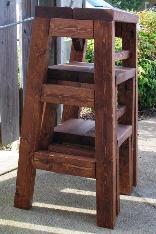 Astounding Pull Out Step Stool Diy Projects Furniture Kitchen Step Uwap Interior Chair Design Uwaporg