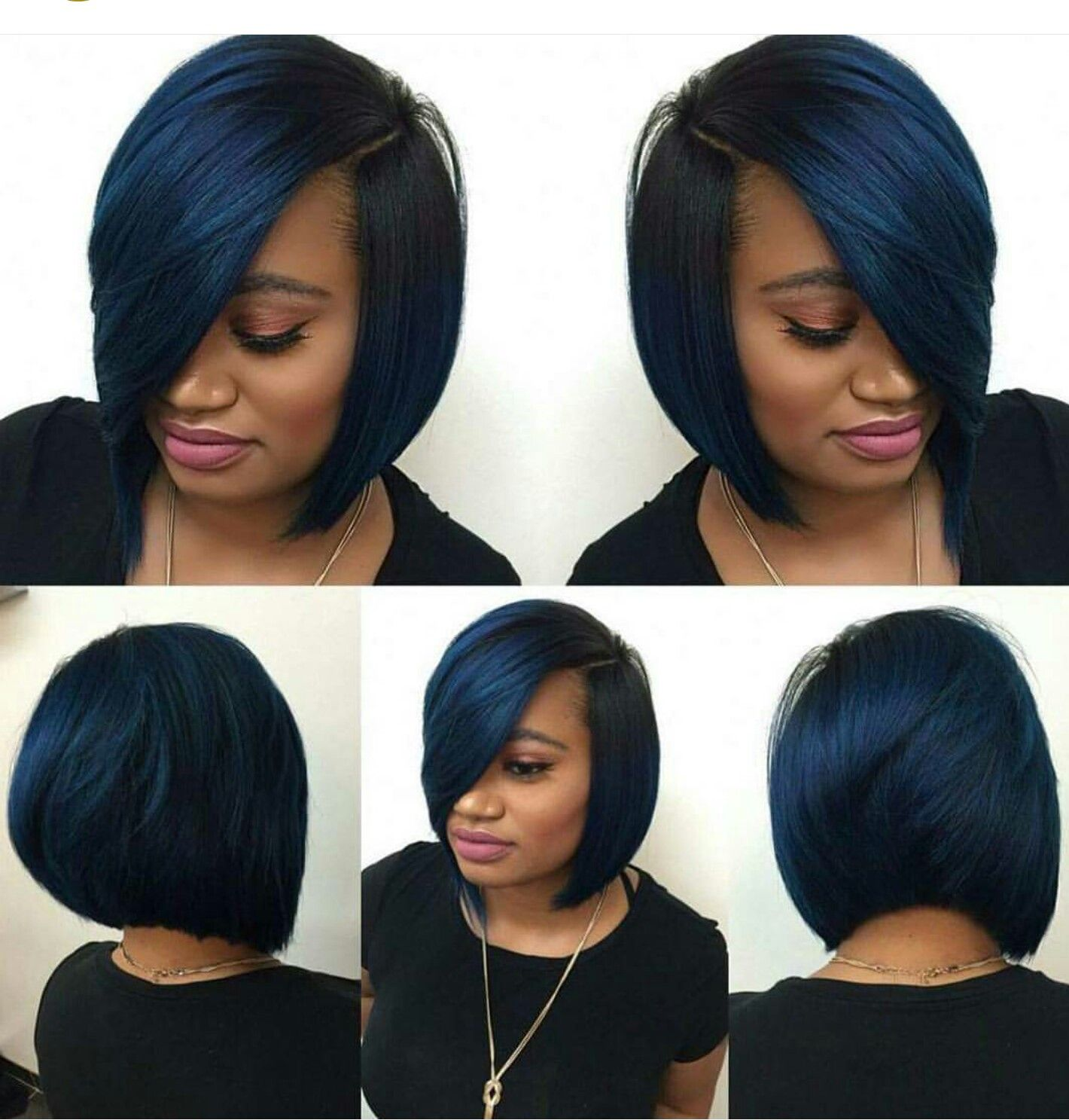 Pin by Londa B on Bobs | Hair inspiration, Natural hair styles, Sew in  hairstyles