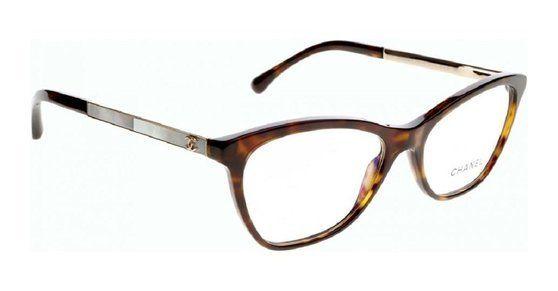 Chanel 3330 H C714 Dark Havana Eyewear #apparel #eyewear #chanel ...