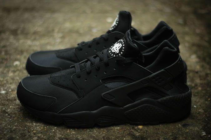 Nike Huarache triple black Clothing, Shoes & Jewelry : Women ...