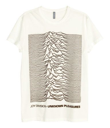 ac10ee392 T-shirt in cotton jersey with a printed design. Joy Division vintage-style band  tee.
