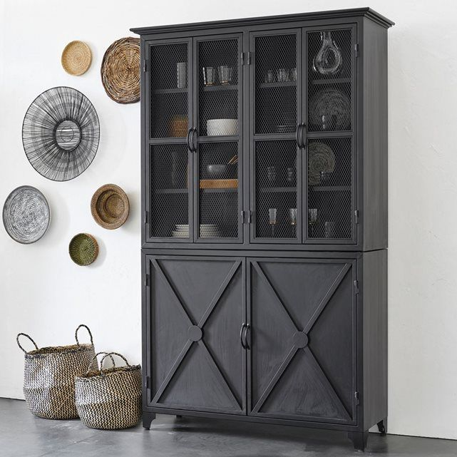 vaisselier m tal kargo pinterest vaisselier grands retours et dans la cuisine. Black Bedroom Furniture Sets. Home Design Ideas