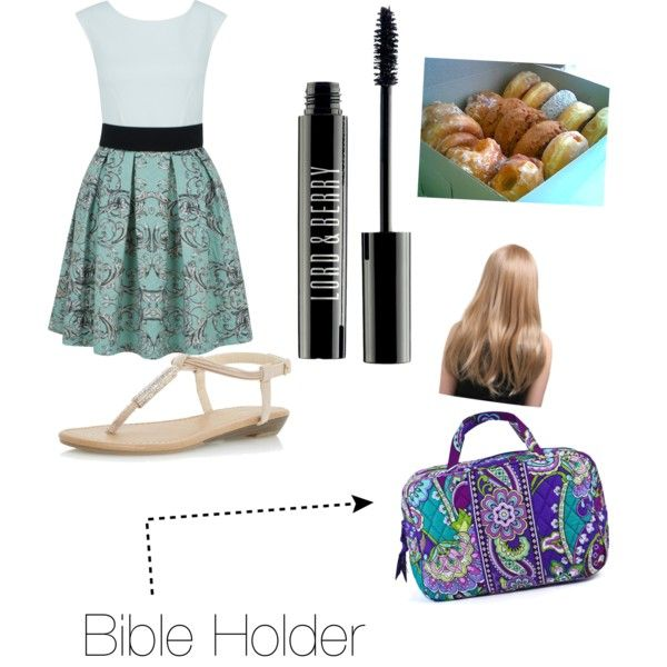 Church by erer665 on Polyvore featuring polyvore, fashion, style, Closet, Dorothy Perkins, Lord & Berry, Vera Bradley and Coffee Shop