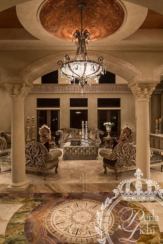 Grand Living Room: Wouldn't Want All Of This In One Space But Like Many Of