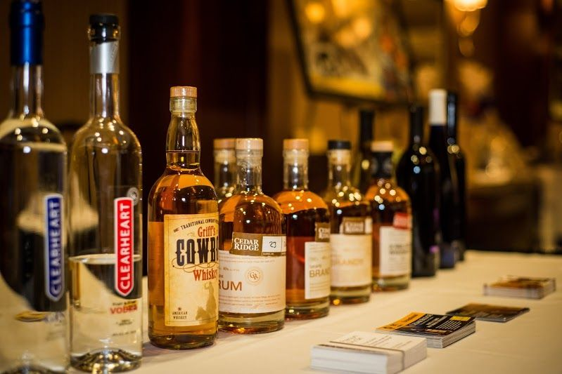 Cedar Ridge Winery and Distillery Local Liquors Available Right Here...Two Rivers Grille. Stay Tuned For Cedar Ridge Prix Fixe Dinner Info...