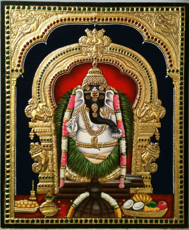 25 Beautiful Tanjore Paintings