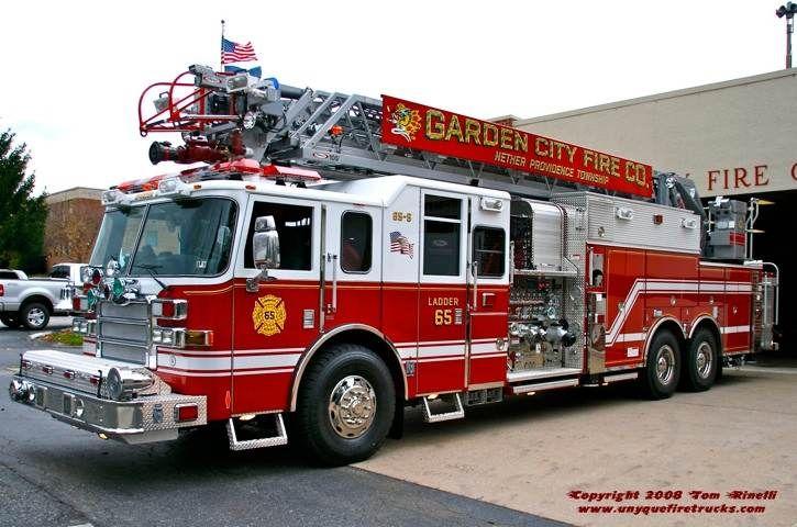 Garden City Pa Fd Ladder 65 5 1994 Pierce Lance 105 2000 300