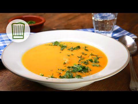 Hokkaido-Kürbissuppe Rezept #chefkoch - YouTube mad Pinterest - kürbissuppe rezept chefkoch