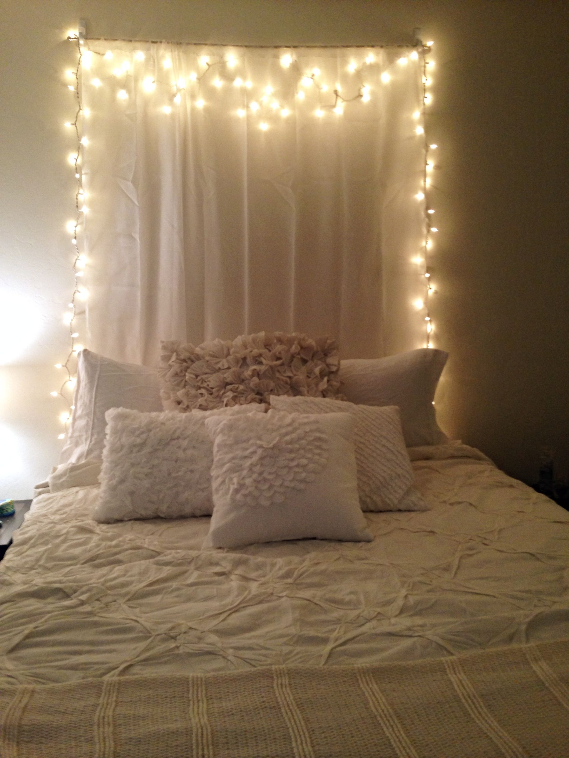 Lights With Curtains Deco Chambre Deco Chambre Ados